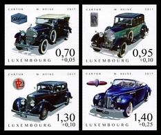 Luxembourg 2017 Mih. 2149/52 Cars Of The 1930s MNH ** - Ongebruikt