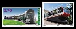 Luxembourg 2017 Mih. 2153/54 New Urban Transport. Tramway And Funicular MNH ** - Ongebruikt