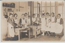 Lot De 2 Cartes Ecole Ménagère Dans Les Vosges  Année 1924 - Schools