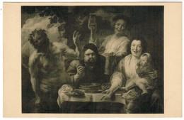 Musée De Bruxelles, J Jordaens, La Satyre Et Le Paysan (pk44489) - Musées