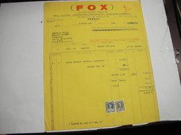 GENOVA  -- CIOCCOLATO.CACAO - BISCOTTI  -- AFFINI --    CIOCCOLATO  FOX - Italia