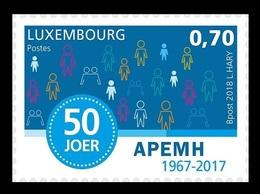 Luxembourg 2018 Mih. 2159 Association Of Parents Of Mentally Handicapped Children MNH ** - Ongebruikt
