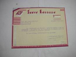 GENOVA -  -- CIOCCOLATO.CACAO - BISCOTTI  -- AFFINI --    CIOCCOLATO  DITTA SANTO ROSSELLO - Italia
