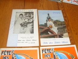 Lot Programme Fetes Des Filets Bleus Concarneau - Programmes