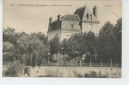 SAINT ASTIER - Château De LA PASSE - France