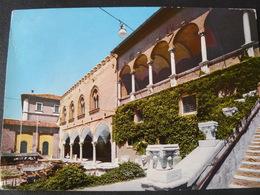 """1967 ANCIENT BEAUTIFUL POSTCARD OF  FANO  """"MALATESTA COURT """" ..//..BELLA CARTOLINA  DI FANO VIAGGIATA...... - Fano"""