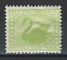 Western Australia SG 121, Mi 53 * MH - Ungebraucht