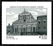 ITALIA / ITALY 2018** - Abbazia Di San Miniato Al Monte - Firenze - 1 Val. Autoadesivo Come Da Foto - 6. 1946-.. Repubblica