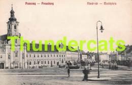 CPA POZSONY PRESSBURG VASAR TER MARKTPLATZ BRATISLAVA - Slovaquie