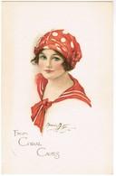 Portret Van Dame, Portrait Of Pretty Lady  Bio Tex (pk44497) - Women