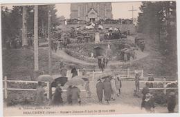Orne : BEAUCHENE Prés  Tinchebray :  Square  Jeanne D ' Arc  1928 - Autres Communes