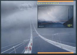 "NORWAY/Norwegen, EUROPA 2018 ""Bridges"" Souvenir Sheet** - 2018"