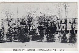 BEAUHARNOIS, Quebec, Canada. College St. Clement, 1978 Postcard - Quebec