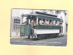 """PHONECARD - PORTUGAL """"STCP/ELÉTRICO"""" PT88 - LOW ISSUE - NEW/NOT USED - Portugal"""