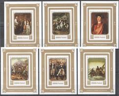 P1455 !!! IMPERFORATE MANAMA ART WORLD'S FAIR 1976 PHILADELPHIA GOLD 6BL MNH - Other