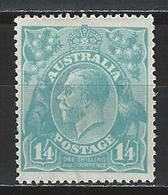 Australia SG 66, Mi 40 * MH - 1913-36 George V: Heads