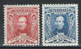 Australia SG 117-18, Mi 91-92 * MH - 1913-36 George V : Other Issues