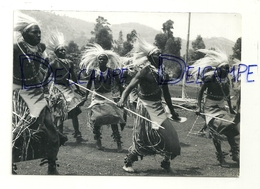 Rwanda.Danseurs Intore. Gisenyi - Ruanda-Urundi