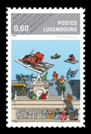 Luxembourg (Meng Post) 2015 No. 71 Comics Festival MNH ** - Luxembourg