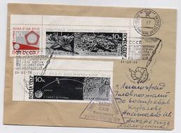 SPACE Cover Mail USSR RUSSIA Rocket Sputnik Set Stamp Moon Antarctic Molodezhnaya 17 SAE Polar - Russie & URSS