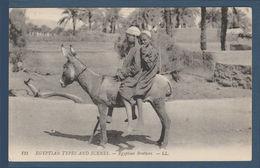 Egypt - Rare - Vintage Post Card - ( Egyptian Brothers ) - Egypt