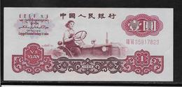 Chine - 1 Yuan - Pick N°874c - SPL/NEUF - Chine
