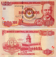 BOLIVIA       100 Bolivianos       P-241       L. 28.11.1986 (2012)       UNC  [Series I - CBN] - Bolivië