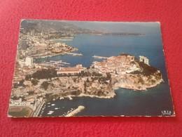 POSTAL POST CARD POSTCARD CARTE POSTALE PRINCIPAUTE DE MONACO VUE, CON MATASELLOS XXV GRAN PRIX AUTOMOBILE 1967 VE FOTOS - Mónaco