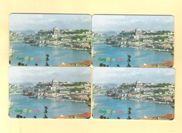 """SERIE OF 4 CHIPCARDS PORTUGAL """" GAIA"""" EX: 4.000 - NEW/NOT USED - Portugal"""