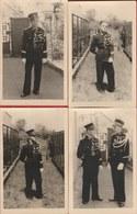 2 Gendarmes En Uniforme - 6 Photos-cartes - Police - Gendarmerie