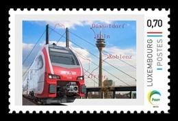 Luxembourg (Meng Post) 2017 No. 106 Luxembourg-Düsseldorf Railway. Locomotive MNH ** - Luxembourg