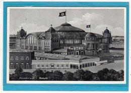 Frankfurt A. Main - Festhalle Beflaggung - Stempel 1939 - Germania