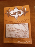CUBA étiquette Etiqueta Label RHUM RON CARIBE - Rhum