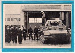 AK Unsere Wehrmacht - Panzer Mit Besatzung - Guerra 1939-45