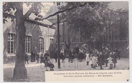 Borgloon - Looz La Ville - Pensionaat En Normaalschool - Speelplaats - Geanimeerd - 1911 - Uitg. Bertels - Borgloon