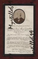Faire-part De Décès - (1901) Memento Monsieur Jean-Marie Guillou - Landivisiau - - Obituary Notices