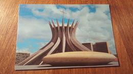 Carte Postale Neuve Brasil Brasilia Cathédrale - Brasilia