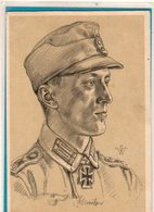 AK Willrich Künstlerkarte - Ritterkreuzträger Oberwachtmeister Schmölzer Gebirgsjäger - Guerra 1939-45