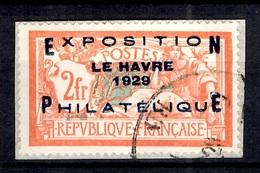 France YT N° 257A Oblitéré Sur Fragment. Signé Bühler. B/TB. A Saisir! - France