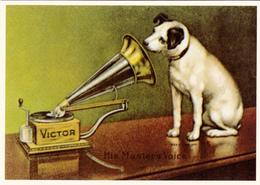 HIS MASTER VOICE - Repro Pub - Werbepostkarten