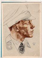 AK Willrich Künstlerkarte - Major Wick - Kommodore Eines Jagdgeschwaders - Guerra 1939-45