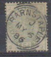 Great Britain 1883 Queen Victoria 5p Used (nice Cancel)  (38550A) - 1840-1901 (Victoria)