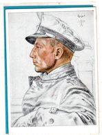 AK Willrich Künstlerkarte - Kapitänleutnant Schuhart - Unsere U-Boot-Waffe - Guerra 1939-45