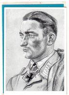 AK Willrich Künstlerkarte - Nowegenkämpfer Sturzkampf-Feldwebel Gerhard Grenzel - Guerra 1939-45