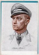 AK Willrich Künstlerkarte - Major Oesau - Kommodore Eines Jagdgeschwaders - Guerra 1939-45