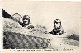LE BOURGET-OMSK (Russie) Départ De GIRIER Et DORDILLY   (105600) - Aviateurs
