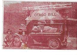 OTAGO -BILL - CYCLISTE DE LA MORT  Pendant Le Repos Du TOUR DU MONDE En Auto- Parti De BRUXELLES En 1927 - Circo