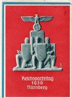 AK Reichsparteitag Nürnberg - Werbestempel 1936 - Germania