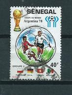 1978 Senegal World Cup Football,voetbal,soccer Used/gebruikt/oblitere - Senegal (1960-...)