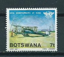 1984 Botswana ICAO Used/gebruikt/oblitere - Botswana (1966-...)